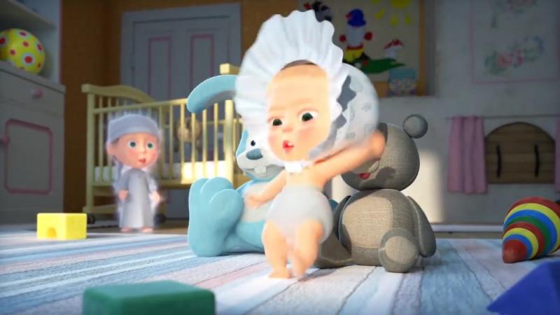 Маша и Медведь С любимыми не расставайтесь 61 серия Новая серия