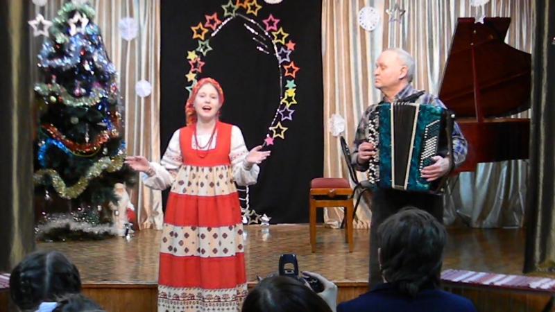 Добрый тоби вечер Рождественская колядка Детская хоровая школа г Орла исп Ноздрина Ксения