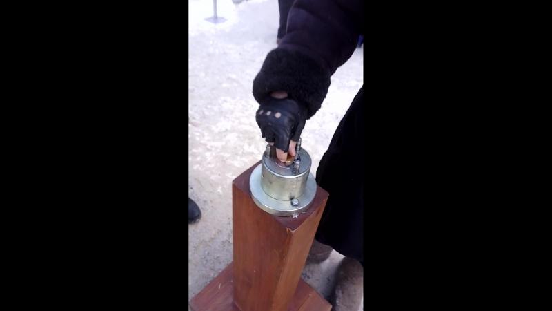 Монетный аттракцион на заводе Авиаагрегат Самара