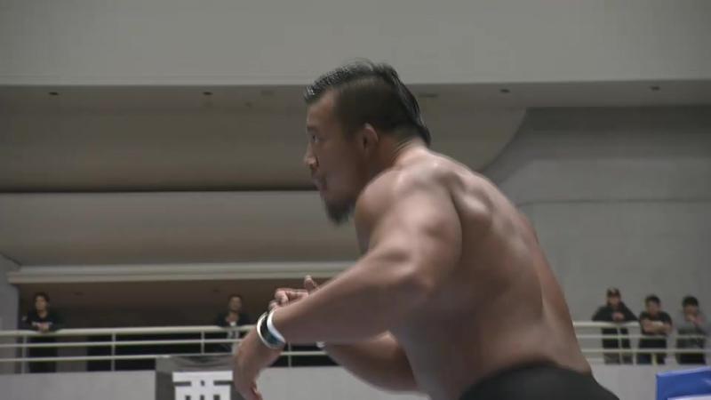 Leo Tonga, Yujiro Takahashi vs. Katsuya Kitamura, Tomoyuki Oka (NJPW - Road To Power Struggle 2017 - Day 3)