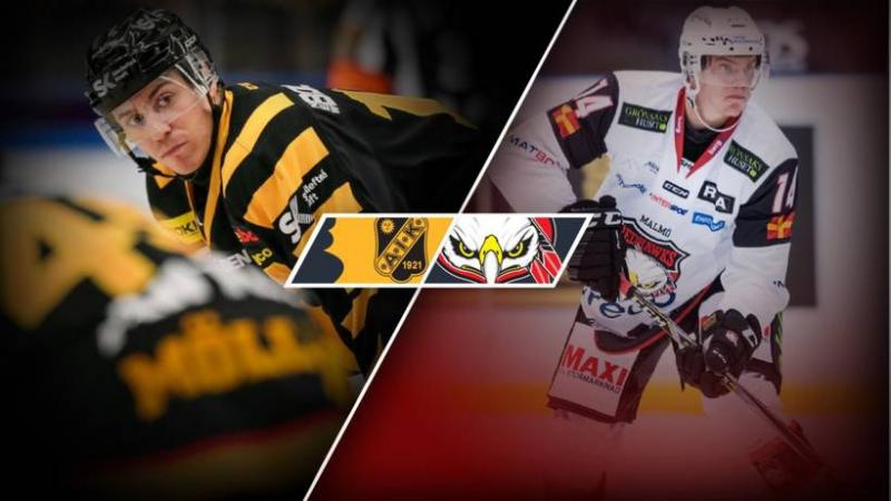Skellefteå AIK Malmö Redhawks 4 2 SHL 2017 11 04 Game week17