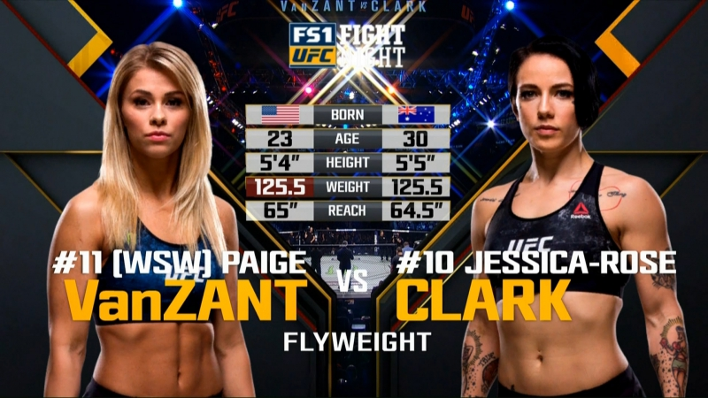 FIGHT NIGHT ST LOUIS Paige VanZant vs Jessica Rose Clark