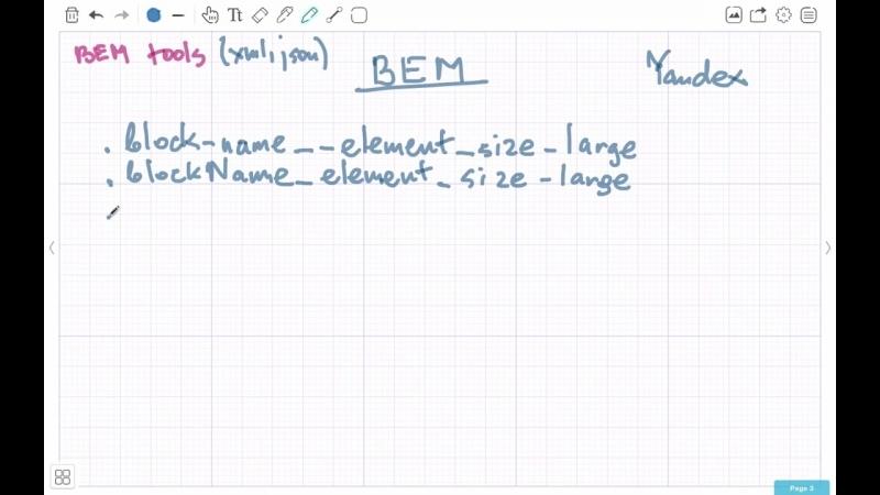 BEM (БЭМ) SMACSS — Sass методологии для организации проект