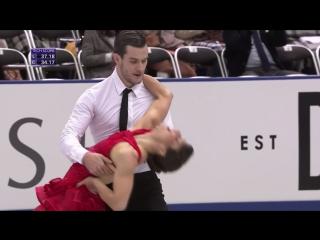 NHK Trophy 2017. Ice Dance - SD. Laurence FOURNIER BEAUDRY Nikolaj SORENSEN