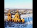 Заброшенняа церковь в селе Александровка Липецкая область