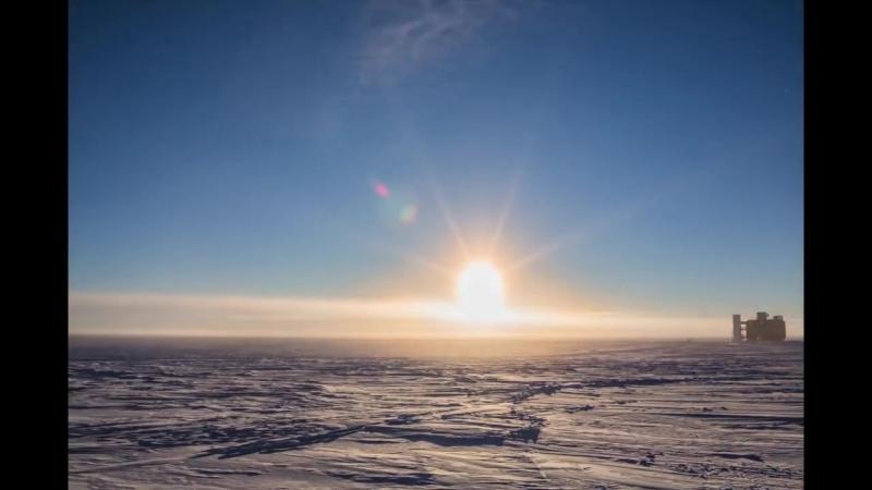 Антарктический таймлапс