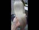 красивый блестящий блонд