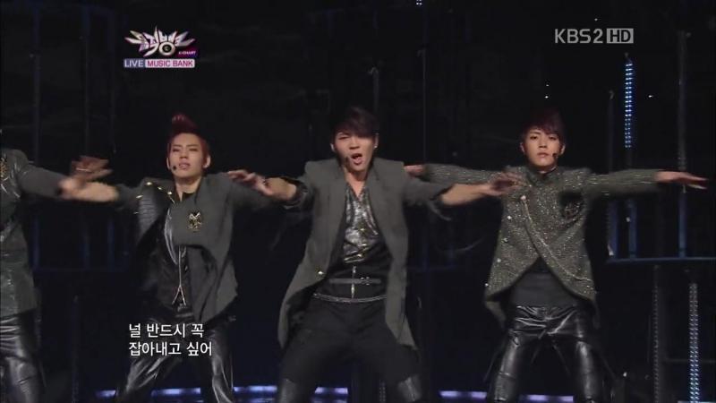 110211   Infinite - BTD   Music Bank