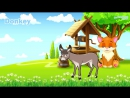 Learning Domestic Animals and their sounds for Kids - English Vocabulary