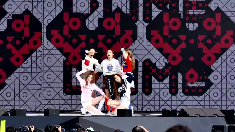 150912 Red Velvet – Dumb Dumb @ DMC Festival Fancam