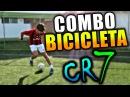 Como burlar a tu rival-La jugada Combo bicicleta de CR7-Tutorial de Futbol y futbol sala