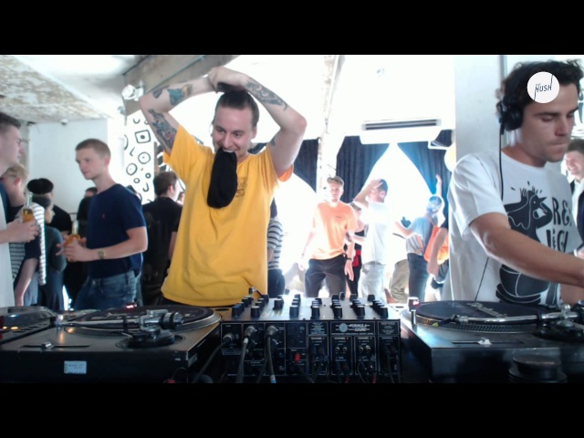DJ Boring b2b Deejay Astral b2b Fede Lng Keep Hush live: DJ Boring presents