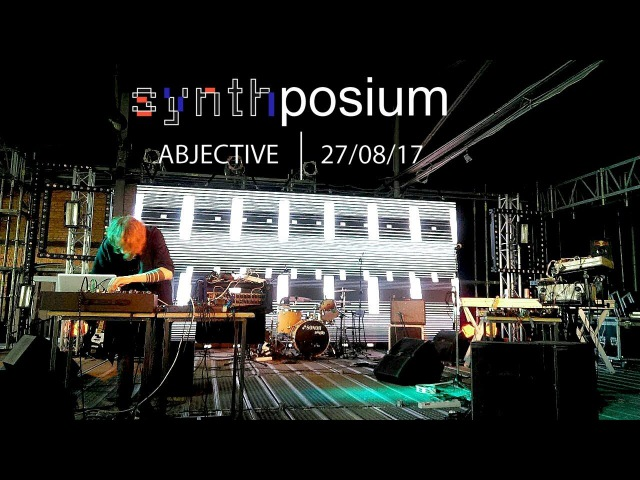Abjective - Performance at the Synthposium festival 2017