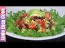 ЛЕГКИЙ ЛЕТНИЙ САЛАТ с ОБАЛДЕННОЙ ЗАПРАВКОЙ Мексиканский Салат с Авокадо и фасолью Mexican Salad