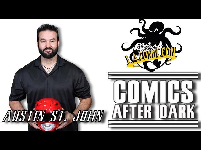 Stan Lees L.A. Comic Con - Mighty Morphin Power Rangers : Red Ranger Austin St. John