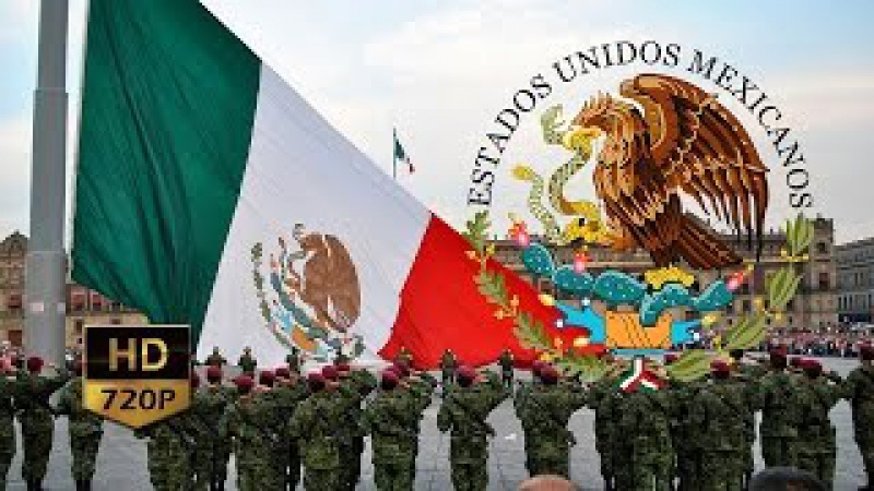 Canto a la Bandera de México ᴴᴰ Oh! Santa Bandera!