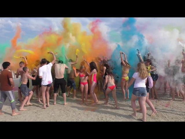 Покачи Фейерверк красок 25 июня 2016 год