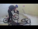 Мою велосипедики после грязевых ванн...