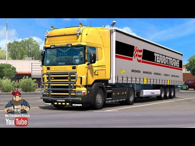 [ETS2 v1.28] Scania 4 Series Addon v2.2.1 for RJL Scanias ALL DLC´s ready