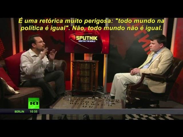 Russia Today traz uma excelente análise do que está acontecendo no Brasil atual