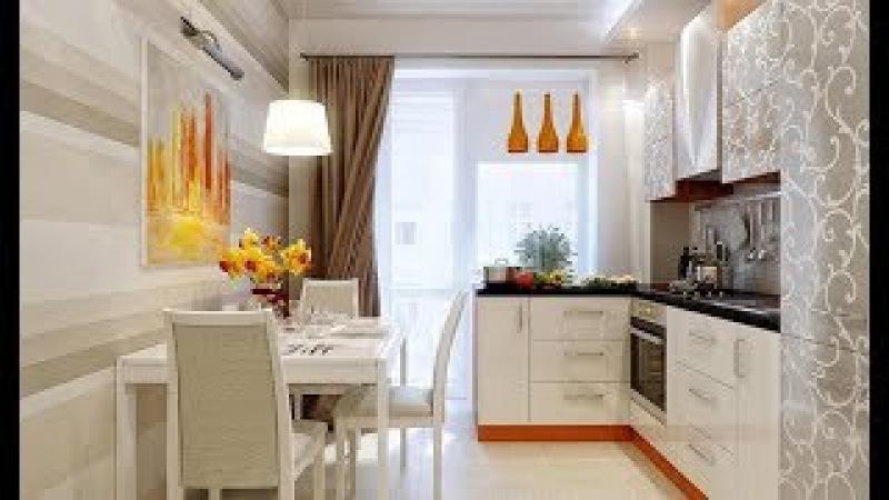 Дизайн кухни 8 кв. метров: более 50 идей