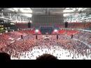 Эффектное начало концерта Rammstein в Москве