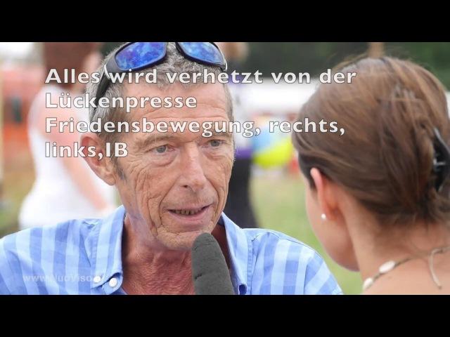 AfD löscht Bundestrojaner mit GEZ Antivirus Daniele Ganser in Ramstein 2017