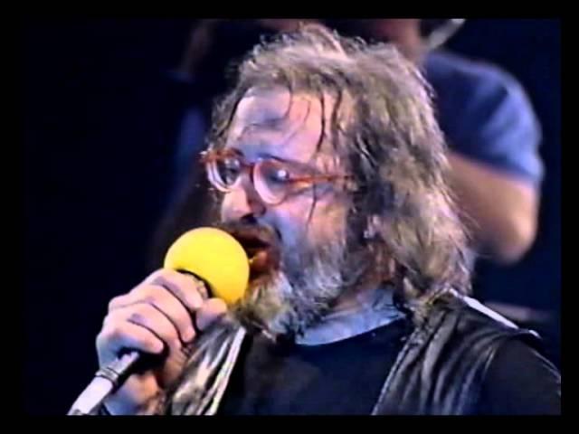 I Nomadi - UN FIGLIO DEI FIORI NON PENSA AL DOMANI live Casalromano (MN) 1989.