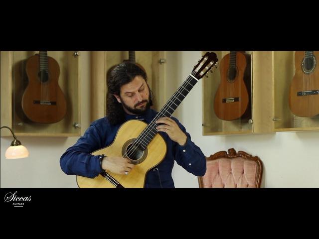 Aaron Larget-Caplan plays Una Limosna Por El Amor de Dios Agustín Barrios Mangoré a 2015 Fritz Ober