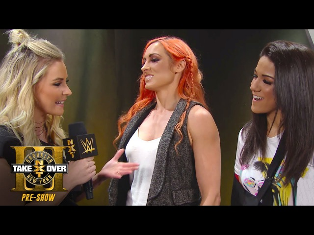 Are Bayley and Becky Lynch on Team Asuka or Team Ember Moon?: TakeOver: Brooklyn III Pre-Show
