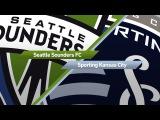 Highlights Seattle Sounders vs. Sporting Kansas City  August 12, 2017