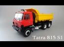 Tatra 815 S1B самосвал от Premium ClassiXXs масштабная модель 1 43 Start Scale Models видео обзор