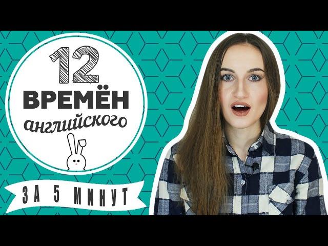 12 ВРЕМЕН английского языка за 5 МИНУТ - Времена в английском - English Spot