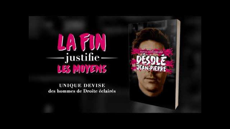 Comment voir le second extrait du livre Désolé Jean-Pierre - Daniel Conversano