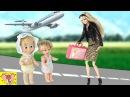ЗНАКОМСТВО С ДЖЕННИФЕР Мама Барби, Маша и Медведь Мультик с Куклами Bad baby Игрушки...