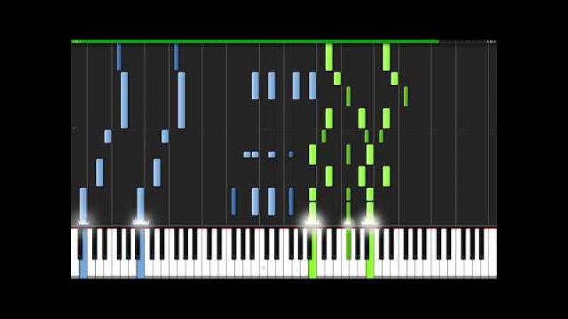 Seven Nation Army - The White Stripes [Piano Tutorial] (Synthesia) Nikodem Lorenz