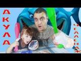 АКУЛА ЧЕЛЛЕНДЖ Акула откусила нам пальцы и Руки Папа играет с Дочкой Детский Чел...