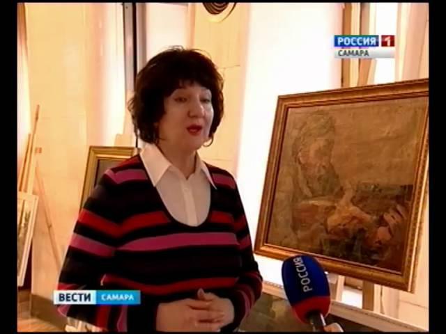 Самарский фронтовой живописец И.Цыбульник уничтожал фашистов красками