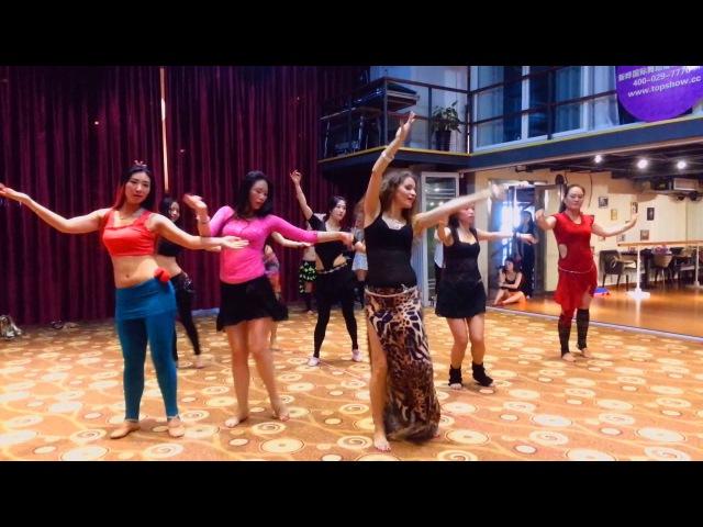 Nata Fari bellydancer workshops in China Xian 2015
