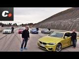 BMW M3 / M4: E30, E36, E46, E92, F82   Prueba Comparativa / Review en español   coches.net