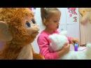 Funny Baby ДОМИК для КУКОЛ Питомец Няша РАСПАКОВКА игрушек в гостях у Сони Фёрби Furby д...