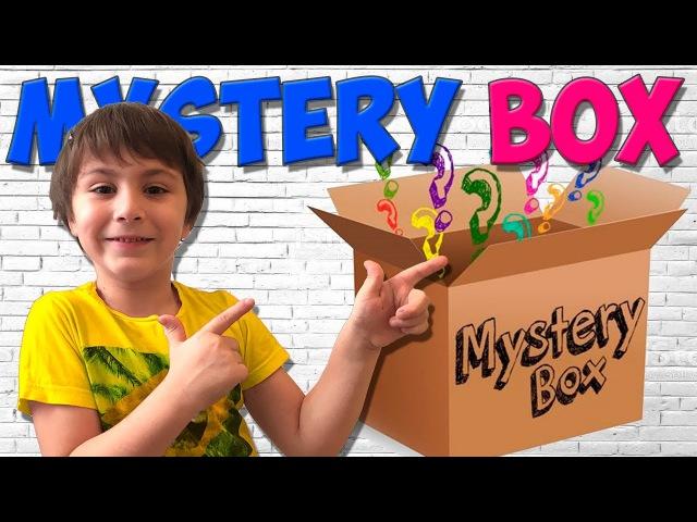 Что Внутри MYSTERY BOX? Игрокон 2017 - Камиль открывает Загадочную Коробку for Children Кикидо