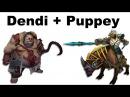 Dendi Pudge Puppey Chen fountain hooking - NaVi vs TongFu - Dota 2 ti3