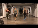 Studio Bodyrock Strong by Zumba Squat Jack Squat High Knees