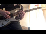 Yngwie Malmsteen -  Heathens  from the north solo cover