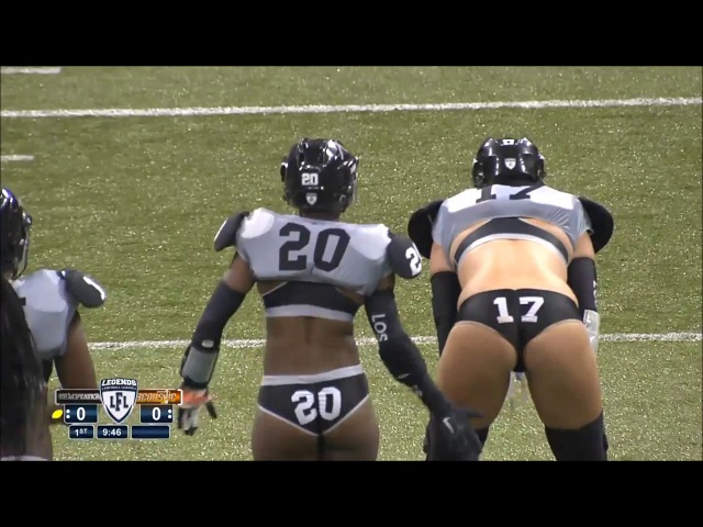 LFL Lingerie Football League - Extra Hits