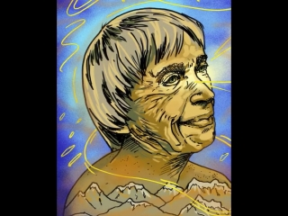 Ursula Le Guin by Emily Gage