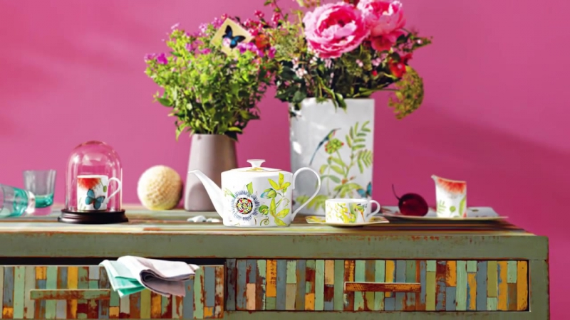 AMAZONIA a riot of exciting colours and shapes Villeroy Boch
