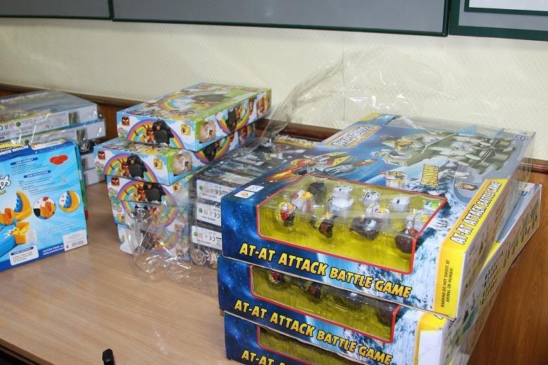 Томские приставы арестовали игрушки
