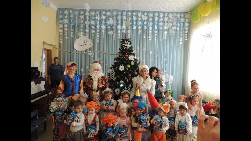 Новогодний утренник младшей группы детского сада Теремок г.Перевальска